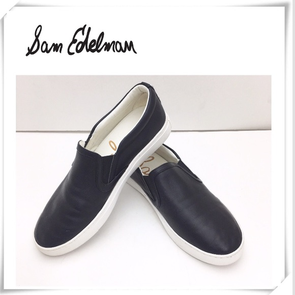 c8ccdb9015981d Sam Edelman Pixie PP Black Slip on Sneakers. M 5c539b6312cd4a770e7d9985